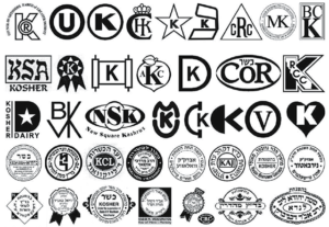 some widely accepted kosher symbols