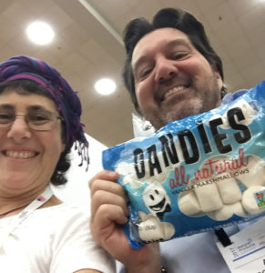 Dandies vegan marshmallows at natural products expo east
