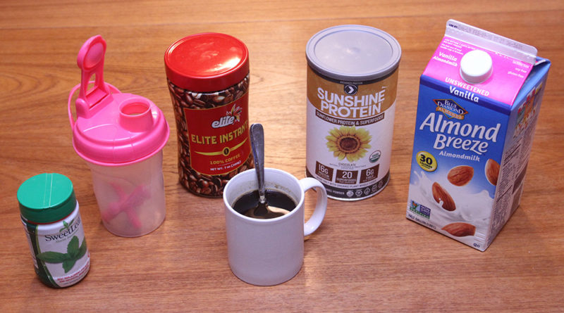 Coffee Protein Drink Ingredients